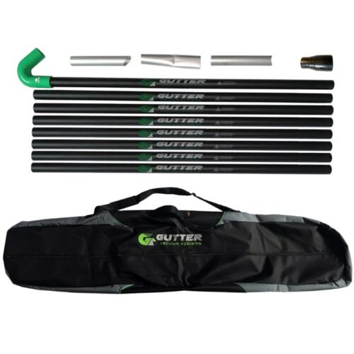 Gutter Vacuum Pole Set 51mm 100% Carbon Fibre