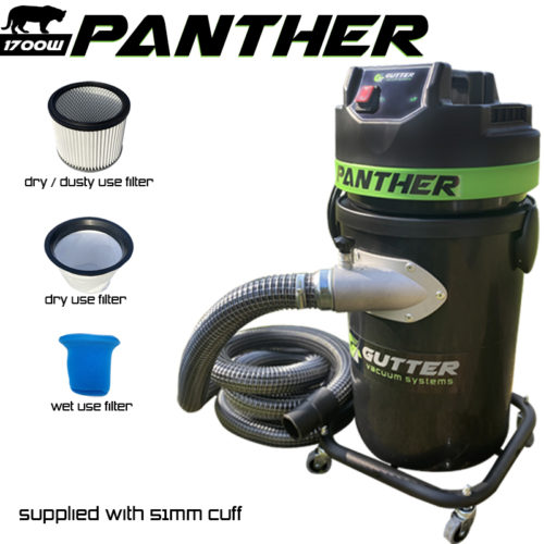 Panther Gutter Vacuum
